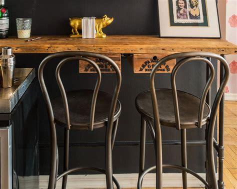 vintage rustic designer kitchen pub bar designer stool photos hgtv