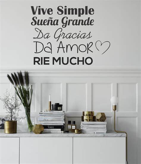 vinilos frases pared vinilos decorativos pared frases personalizados y m 225 s