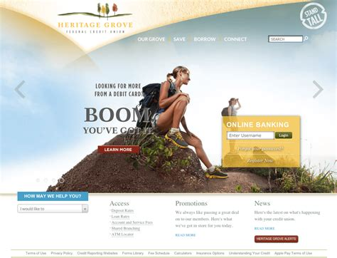 best home websites the definitive list of the best bank website designs