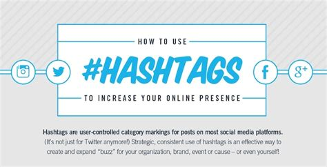 don t make a hash of it using hashtags to increase your social presence
