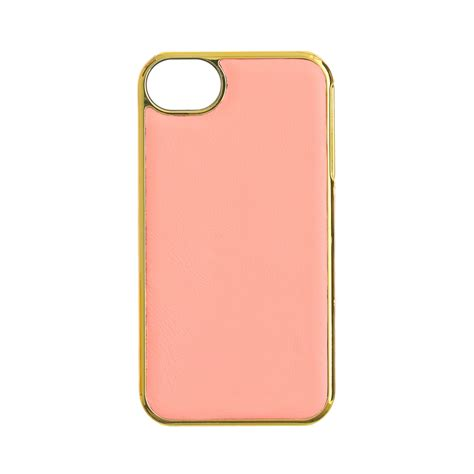 Hardcase Iphone 44s 5 j crew leather for iphone 44s in pink almond