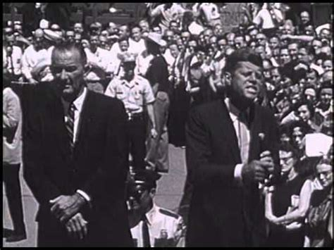 ifp:12 john f. kennedy and lyndon baines johnson at chance
