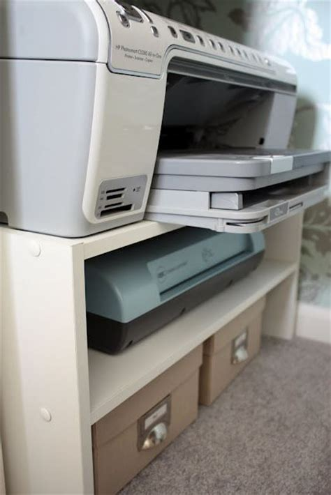 desk with printer storage 25 best ideas about under desk storage on pinterest