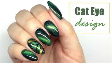 eye nail art tutorial cat eye design nail art tutorial my wonderland youtube