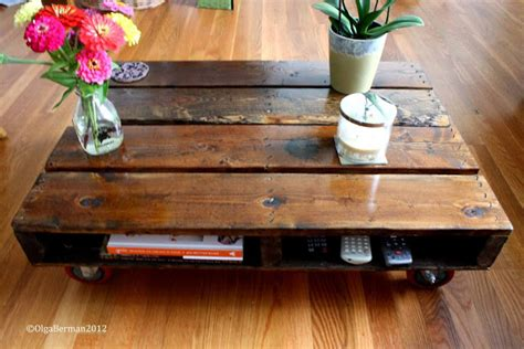 Make A Pallet Coffee Table Mango Tomato Diy Make Your Own Pallet Coffee Table