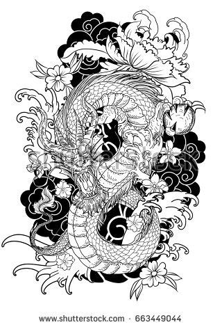 japanese dragon stock images royalty free images