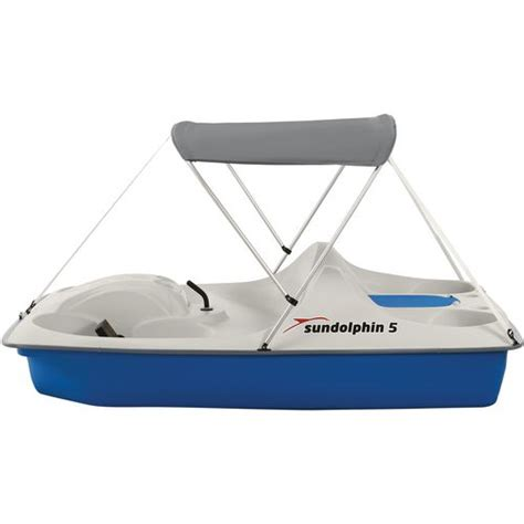 sun dolphin 5 seat pedal boat sun dolphin 5 seat pedal boat with canopy academy