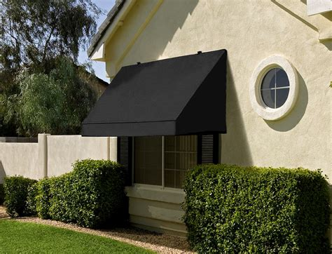 Black Awning by Classic Window Or Door Awning