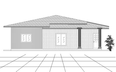 5 Bedroom Single Story House Plans four bedroom single story house plan
