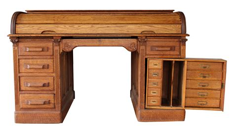 Desk With Secret Compartments roll top desk with secret compartments chairish