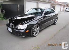 2003 Mercedes Clk 500 2003 Mercedes Clk 500 9 Pics East Vancouver For Sale