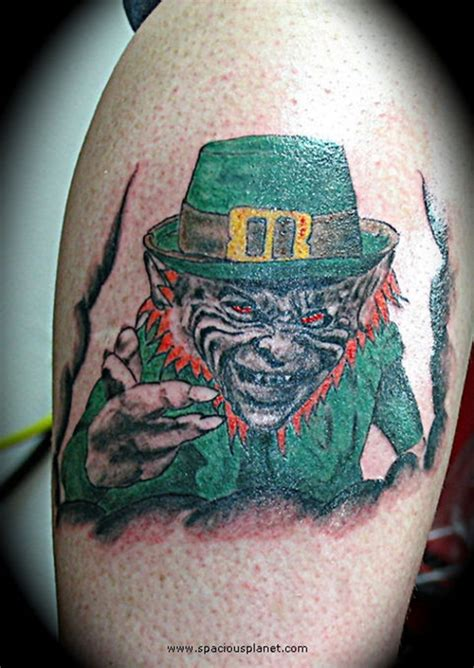 24 scary leprechaun tattoos that ll freak you out