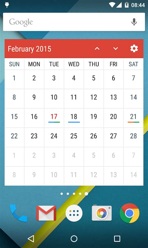 calendar widgets event flow calendar widget android apps on google play
