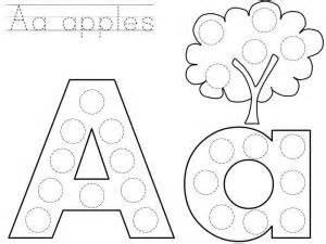 alphabet do a dot printables funnycrafts