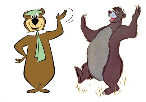 10 famous bears
