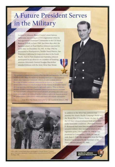 LYNDON JOHNSON WWII MILITARY SERVICE POSTER - April ... Austin Texas 78729