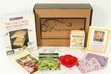 Gardening Subscription Box by Jade Canopy November 2015 Review Gardening Subscription