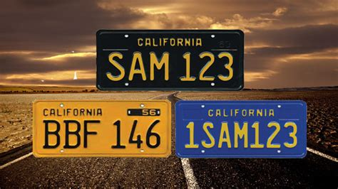 Ca Dmv Vanity Plates california dmv legacy license plate program pre order season open lsx magazine