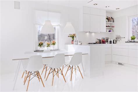 imagenes completamente blancas c 243 mo decorar una cocina blanca todos los trucos