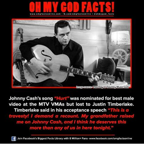 Johnny Cash Meme - 25 best memes about best male video best male video memes