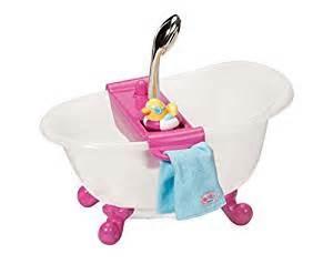 zapf baby born interactive bathtub with duck baby born