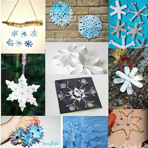 snowflake craft for 40 snowflake crafts and activities for