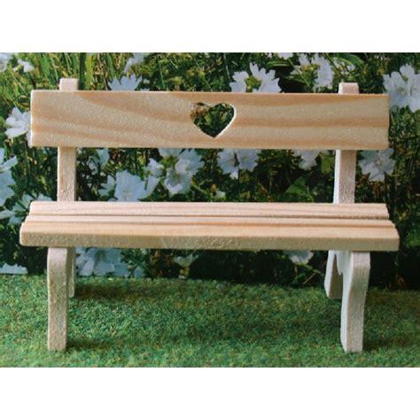 Carl Schmeider Love Heart Garden Bench