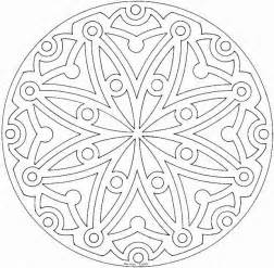 mandala to color free coloring pages of mandalas