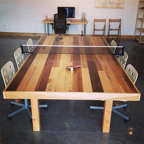Ping Pong Meeting Table Small Conference Room Table With Ping Pong Conversion Two Birds One Cool Furniture