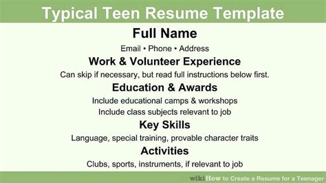 good sample resumes for jobs first job resume examples 1st job