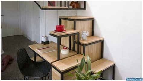 Meja Kayu Pejabat meja pejabat paling pelik dilipat jadi tangga zamrispoon