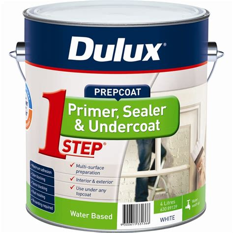 Dulux Acrylic Wall Filler dulux 4l 1 step acrylic based primer sealer undercoat