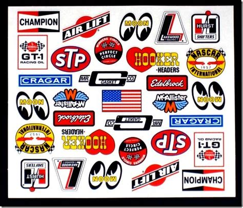 Auto Decal Numbers by Racing Number Sticker