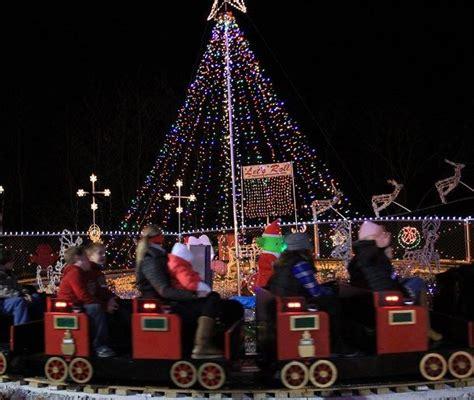 stewart family lights where to see lights in northwest arkansas