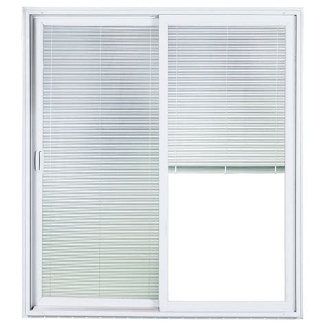 Ply Gem Sliding Patio Door Plygem 72 In X 80 In Right Sliding Patio Door With Low E Tempered Solar Cooling Bbg