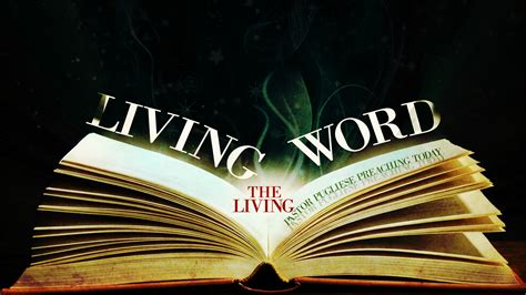living the word beyond sunday morning practical ways to live god s word and make and impact for god s kingdom volume 1 books living the living word pastor pugliese preaching today