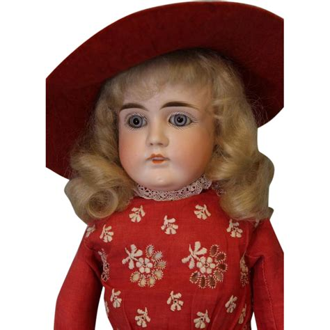 bisque doll marked special antique 15 inch turned mystery german bisque doll
