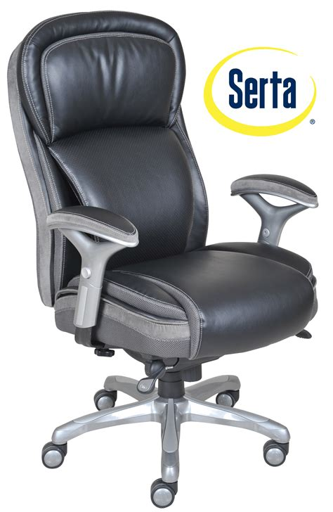 smart layers premium elite manager chair  air  bliss black bonded leather