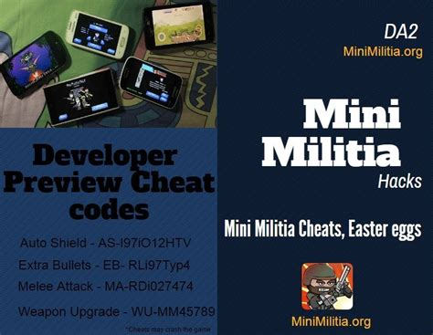 doodle army mini militia cheats mini militia cheats on funlist123
