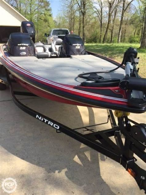 used nitro boats for sale in arkansas 2014 used nitro z 8 bass boat for sale 35 000