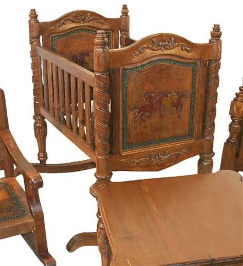 Western Baby Cradle Childrens Western Furniture Free Western Baby Cribs
