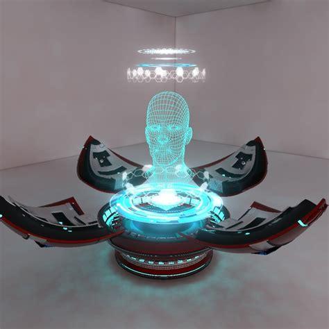 Proyektor Hologram 3dsmax holographic projector