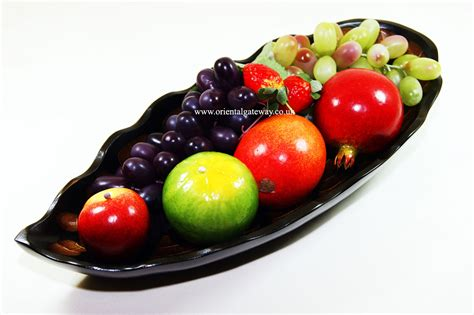 fruit bowls wooden leaf shaped fruit bowls