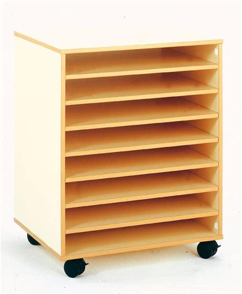 meuble rangement dessin meuble bas mobile pour rangement papier 224 dessin 8 cases