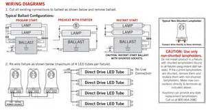 2 foot t8 bulb led driver wiring diagram