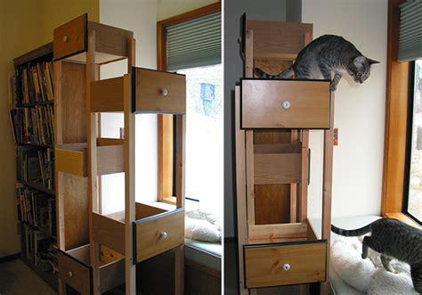 Tree Drawer dresser drawers cat tree petdiys