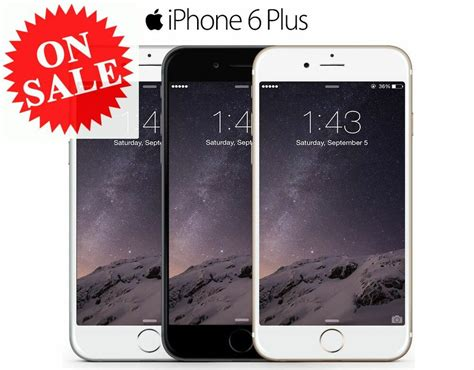 t iphone 6 plus apple iphone 6 plus factory unlocked t mobile at t verizon gray silver gold ebay