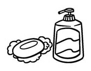 coloriages d objets salle de bain