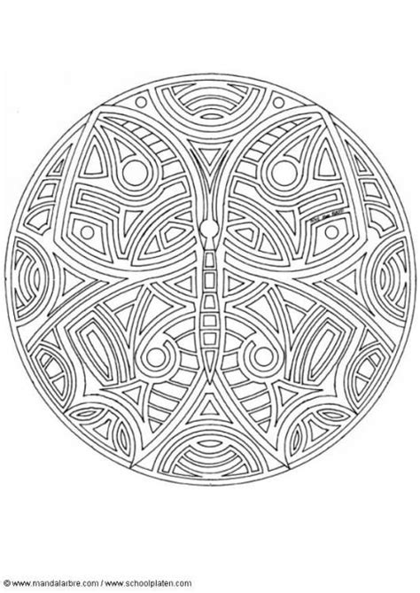 butterfly mandala coloring page butterfly mandala coloring pages pinterest