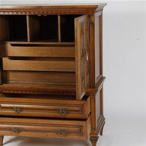 Oak Armoire Dresser by Romweber Viking Oak Armoire Cabinet Dresser Bedroom Suite